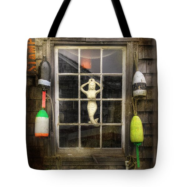 Maine Mermaid Tote Bag