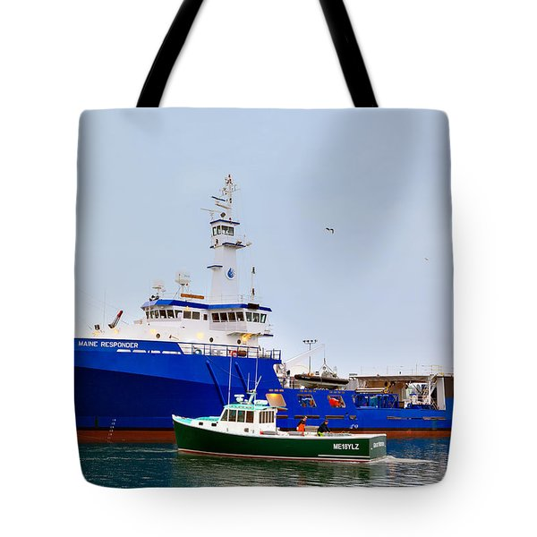 Maine Responder Tote Bag