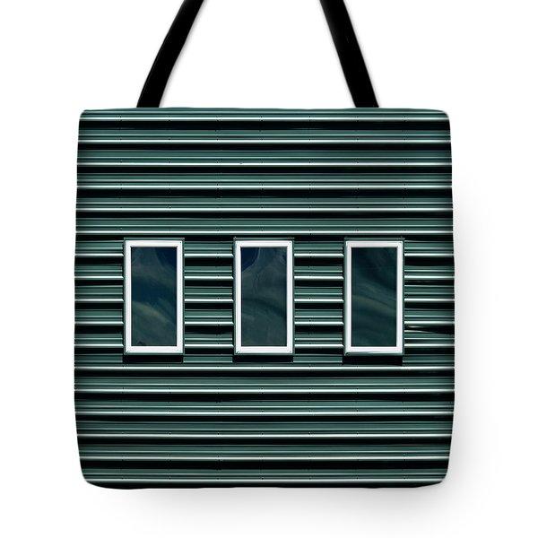 Maine Windows 2 Tote Bag