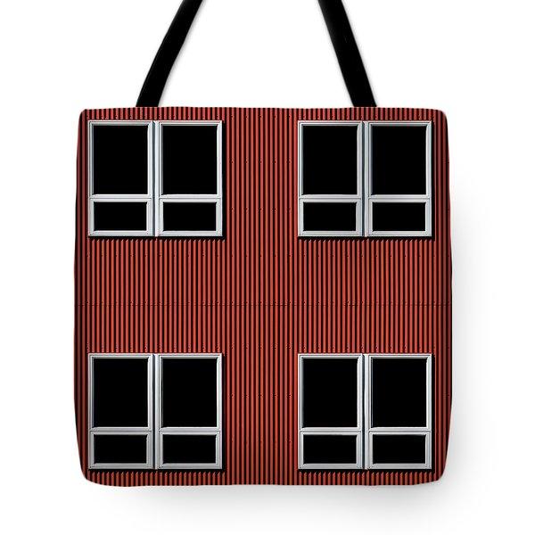 Maine Windows 3 Tote Bag