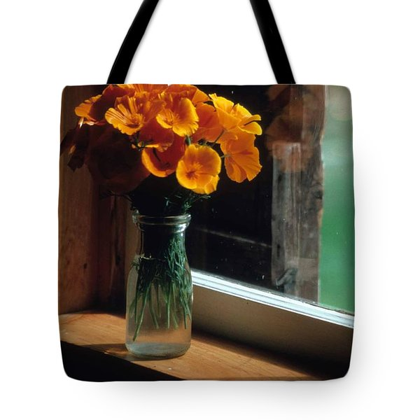 Maine Windowsill Tote Bag by Laurie Paci
