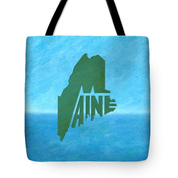 Maine Wordplay Tote Bag
