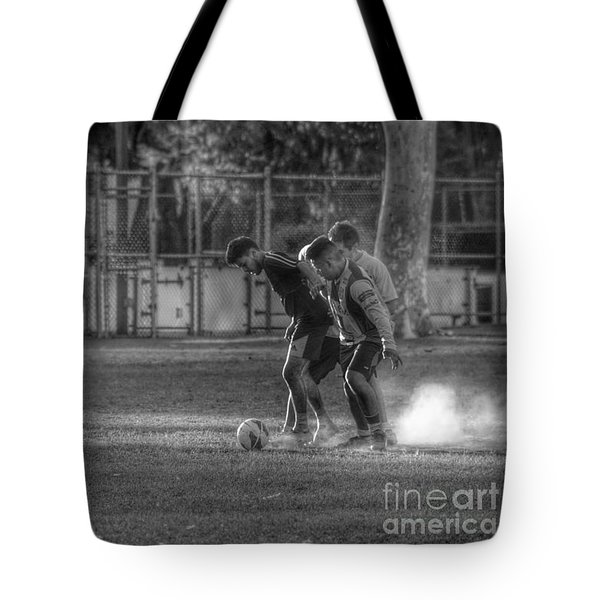 Maintaining Control Tote Bag