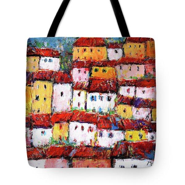 Maisons De Ville Tote Bag