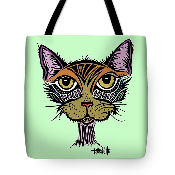 Tote Bag featuring the drawing Maisy by Tanielle Childers