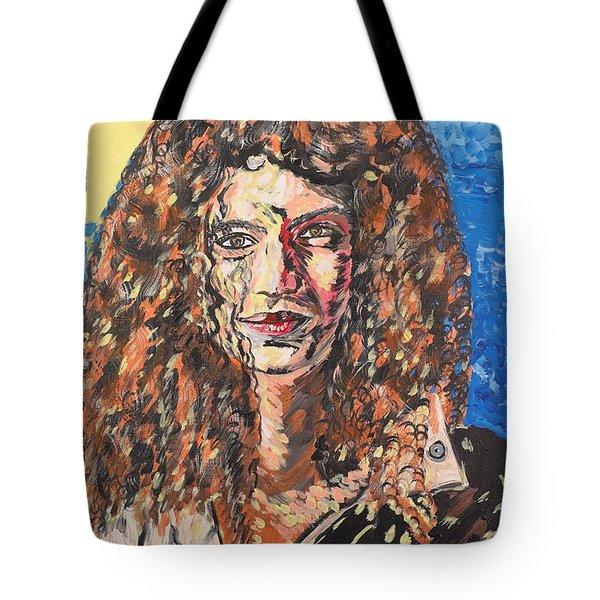 Maja Tote Bag by Valerie Ornstein