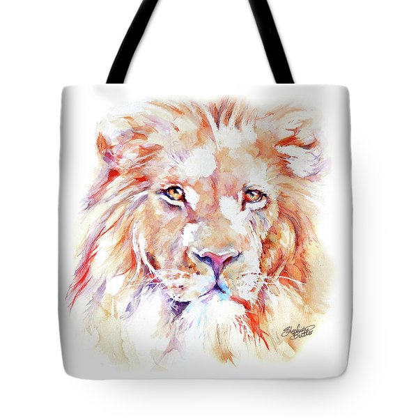 Majestic African Lion Tote Bag
