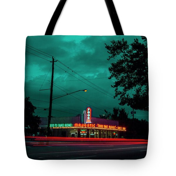 Majestic Cafe Tote Bag