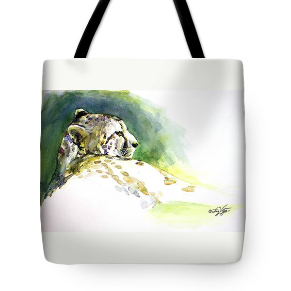Majestic Cheetah Tote Bag