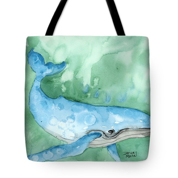 Tote Bag featuring the painting Majestic Creature by Darice Machel McGuire