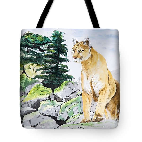 Majestic Domain Tote Bag by Joette Snyder