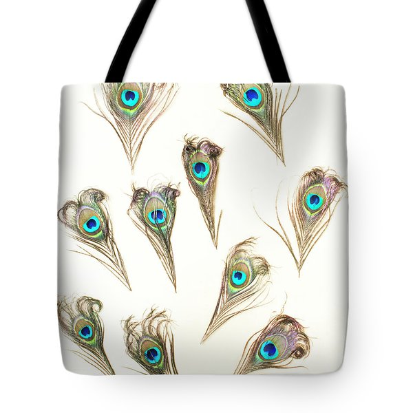 Majestic Feathers Tote Bag