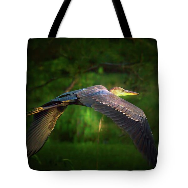 Majestic Flight Tote Bag by Mark Andrew Thomas