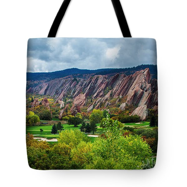 Tote Bag featuring the photograph Majestic Foothills by Kristal Kraft
