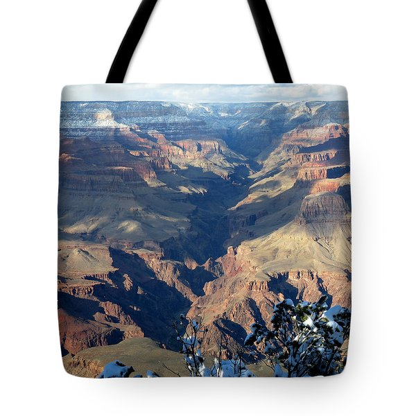 Tote Bag featuring the photograph Majestic Grand Canyon by Laurel Powell