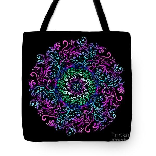 Majestic Kaleidoscope Tote Bag