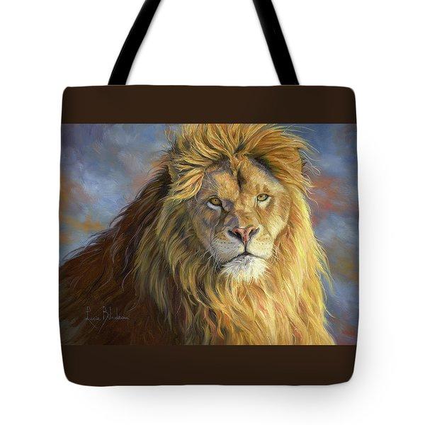 Majestic King Tote Bag