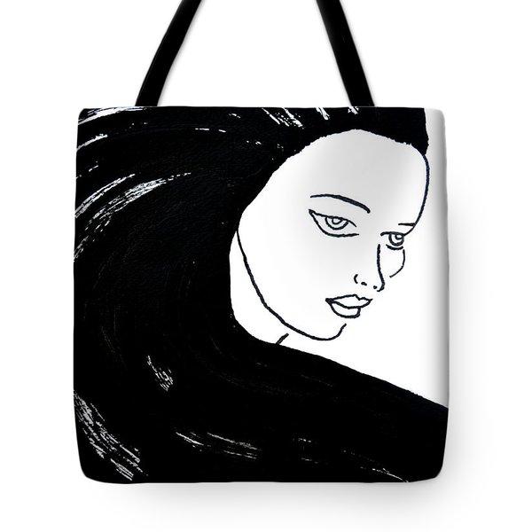Majestic Lady J0715a Tote Bag