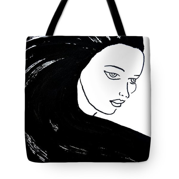 Majestic Lady J0715a Tote Bag