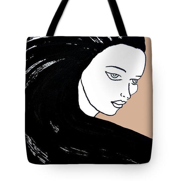 Majestic Lady J0715b Tote Bag