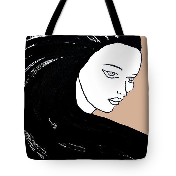 Majestic Lady J0715b Tote Bag