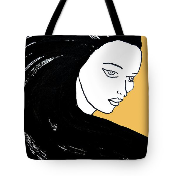 Majestic Lady Mimosa Yellow Pastel Painting 14-0848 F0b59 Tote Bag