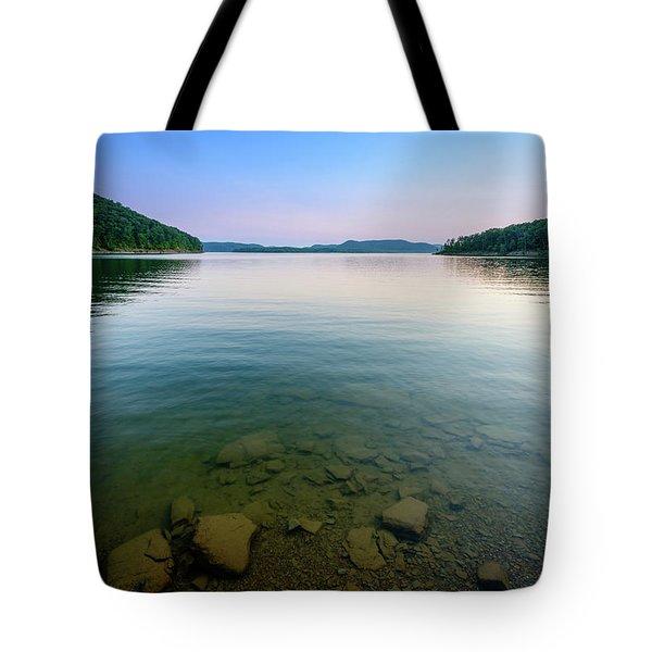 Majestic Lake Tote Bag