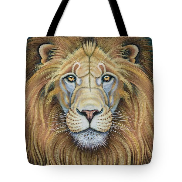 The Lion's Mane Attraction Tote Bag