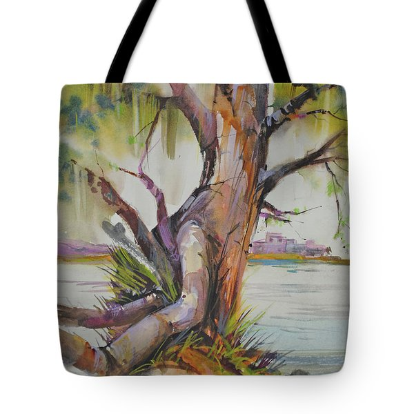 Majestic Live Oak  Tote Bag