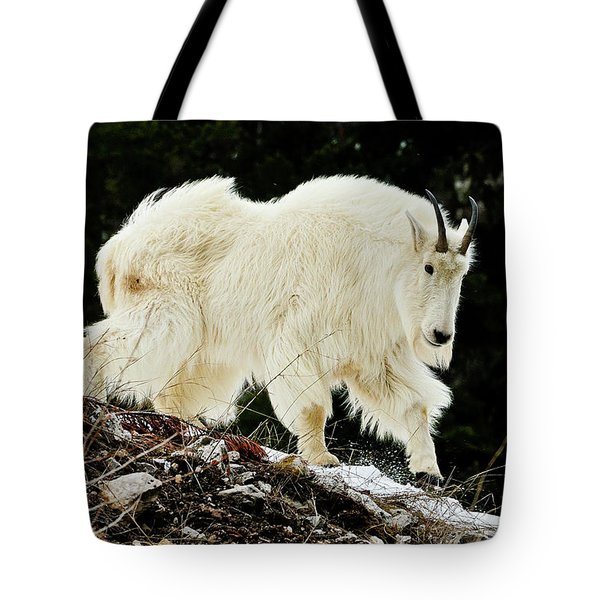 Majestic Mountain Goat Tote Bag
