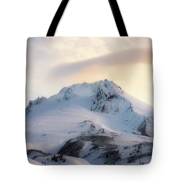 Tote Bag featuring the photograph Majestic Mt. Hood by Ryan Manuel