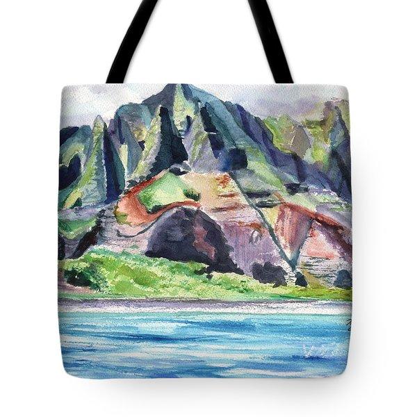 Majestic Na Pali Coast Tote Bag