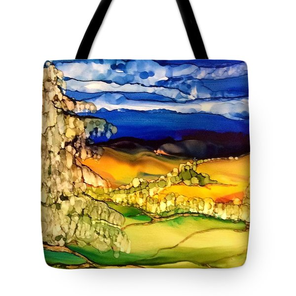 Majestic Tote Bag by Pat Purdy