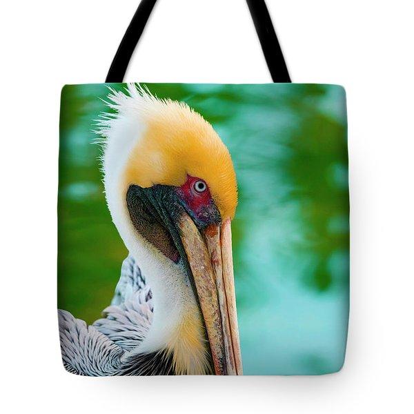 Majestic Pelican 48 Tote Bag