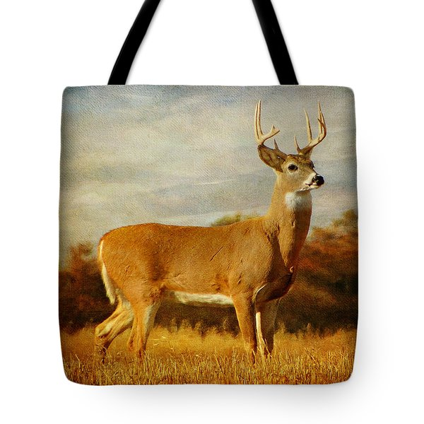 Majestic Pose Tote Bag by Blair Wainman