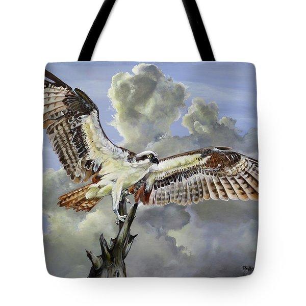 Majestic Sea Hawk Tote Bag