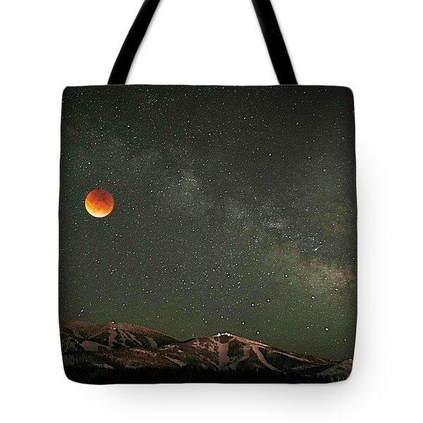 Majestic Sky Tote Bag by Matt Helm