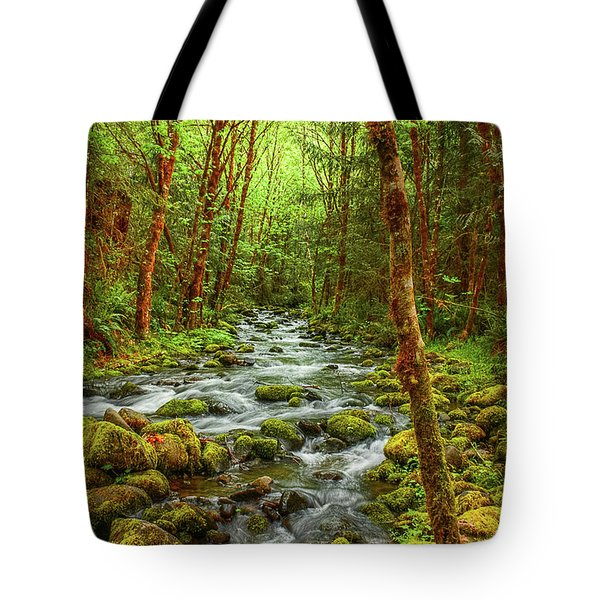 Majestic Stream Tote Bag