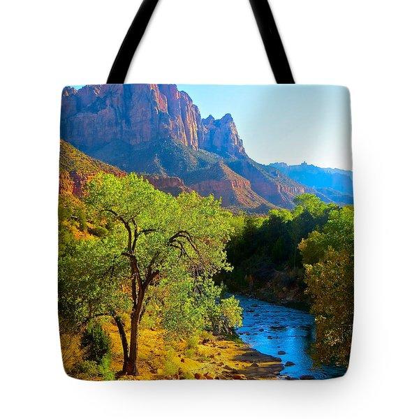 Majestic Watchman Tote Bag