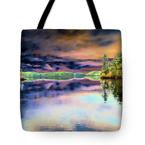 Majesty Tote Bag by Daniel Hebard