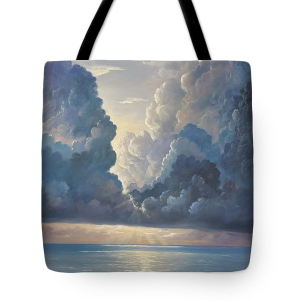 Tote Bag featuring the painting Majesty by Rosario Piazza