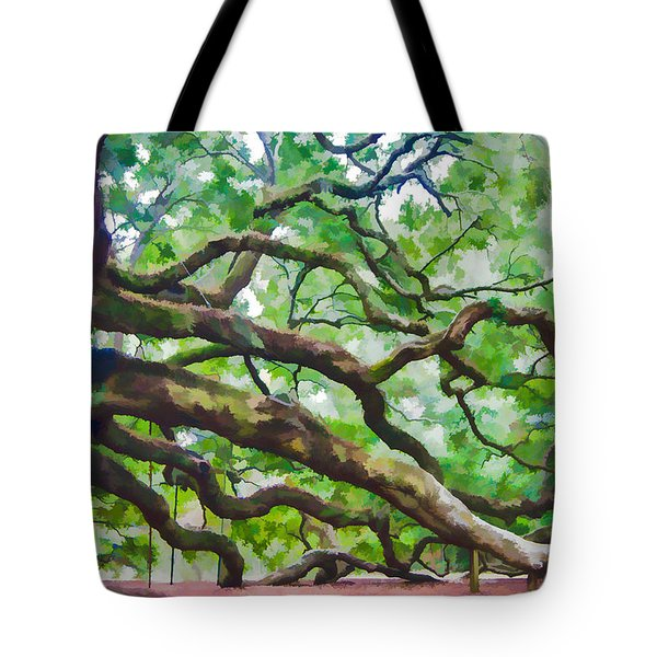 Majesty - The Angel Oak Tote Bag