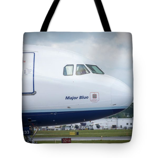 Tote Bag featuring the photograph Major Blue by Guy Whiteley
