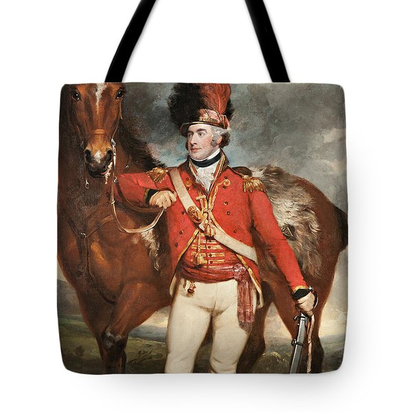 Major O'shea Of The Loyal Cork Legion Tote Bag