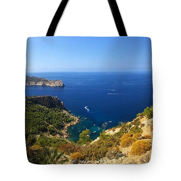 Majorca Spain Panorama Tote Bag
