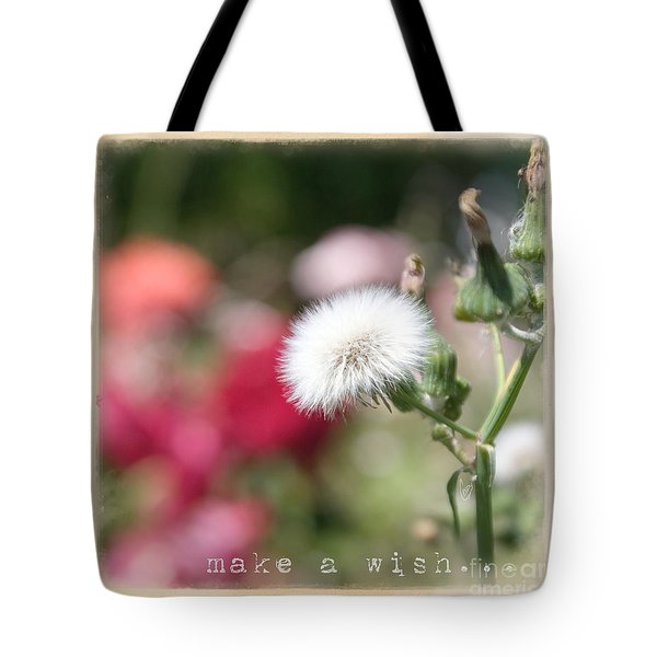 Make A Wish... Tote Bag by Cindy Garber Iverson