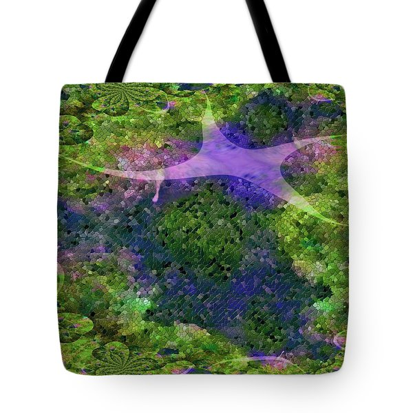 Tote Bag featuring the digital art Make A Wish by Claire Bull