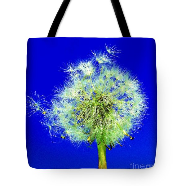 Tote Bag featuring the digital art Make A Wish by Rodney Campbell
