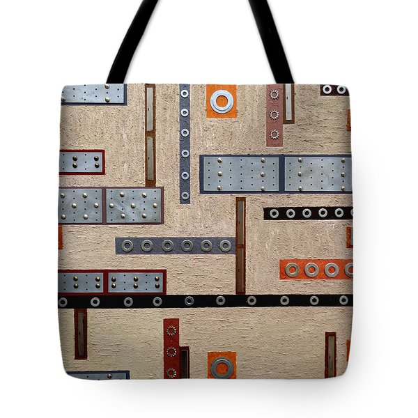 Make Mine Metal Tote Bag