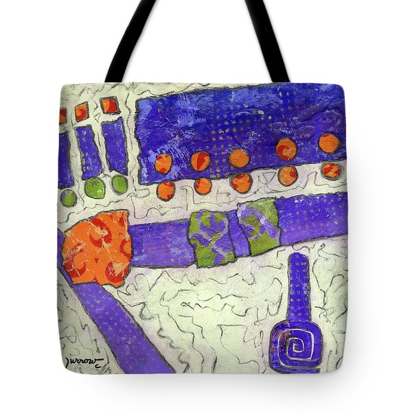 Make New Friends Tote Bag by Sue Furrow